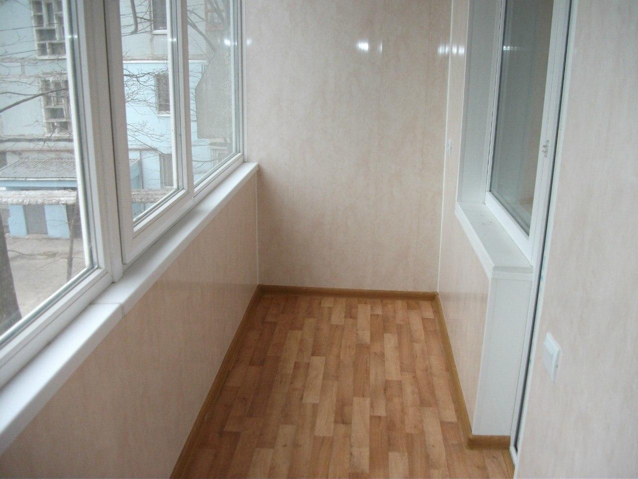 Отделка балконов и лоджий внутри в благовещенске - 261804 - .